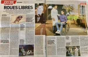 Double page l'Equipe