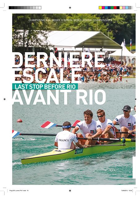 Dernière escale avant Rio