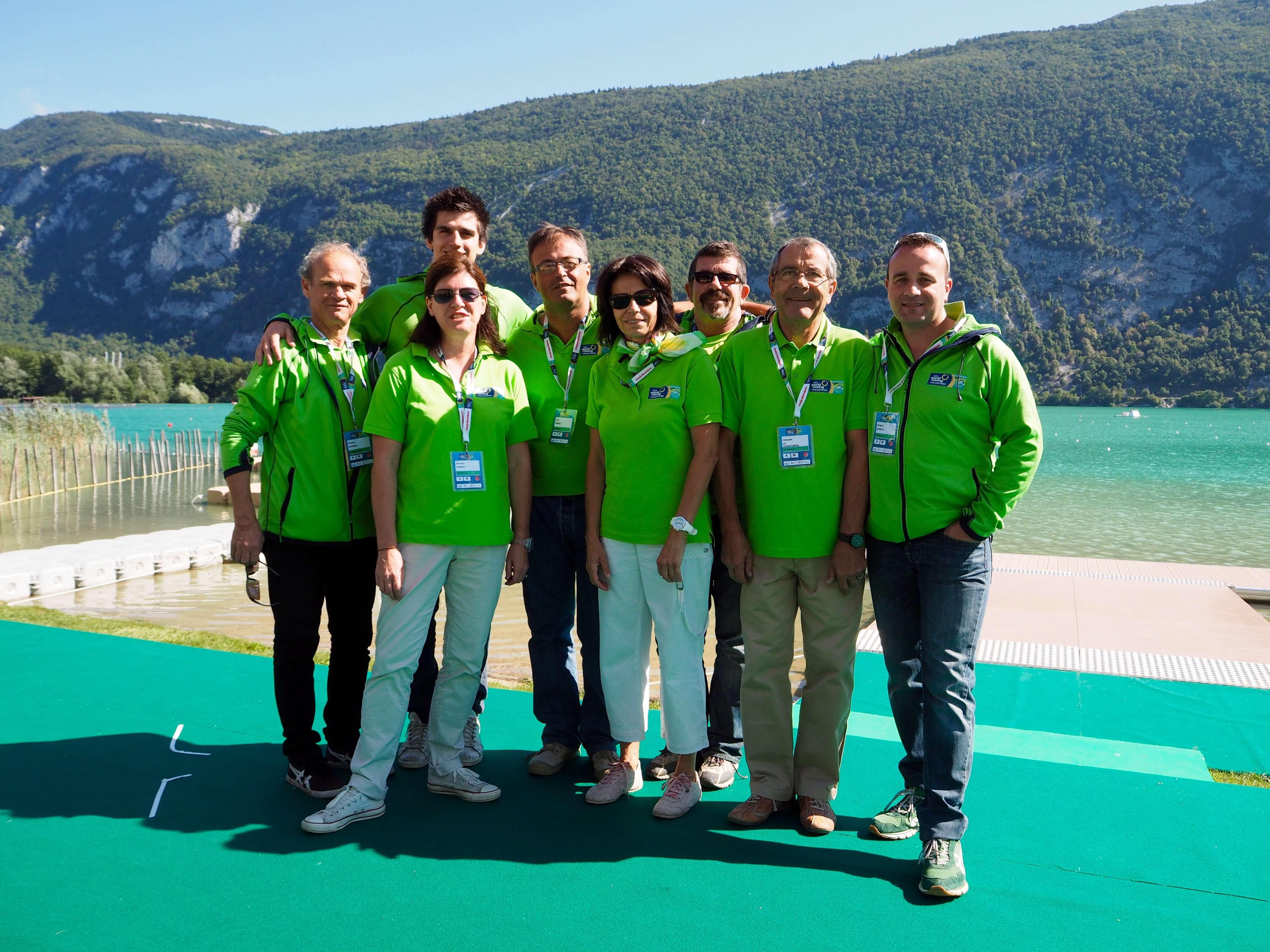 Equipe CM Aviron 2015