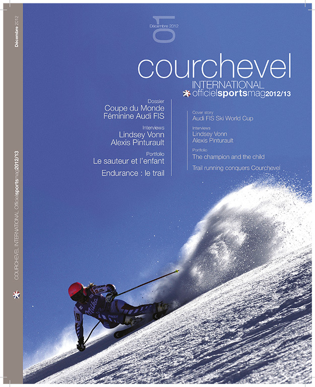 Couverture Magazine Courchevel