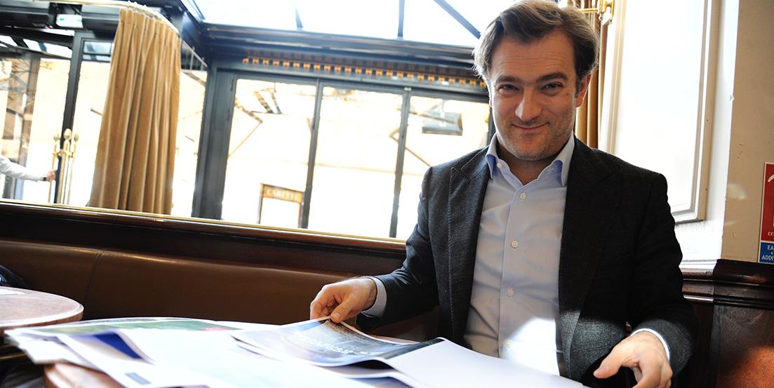 Renaud Capuçon, rédacteur en chef du magazine Savoie Mont Blanc