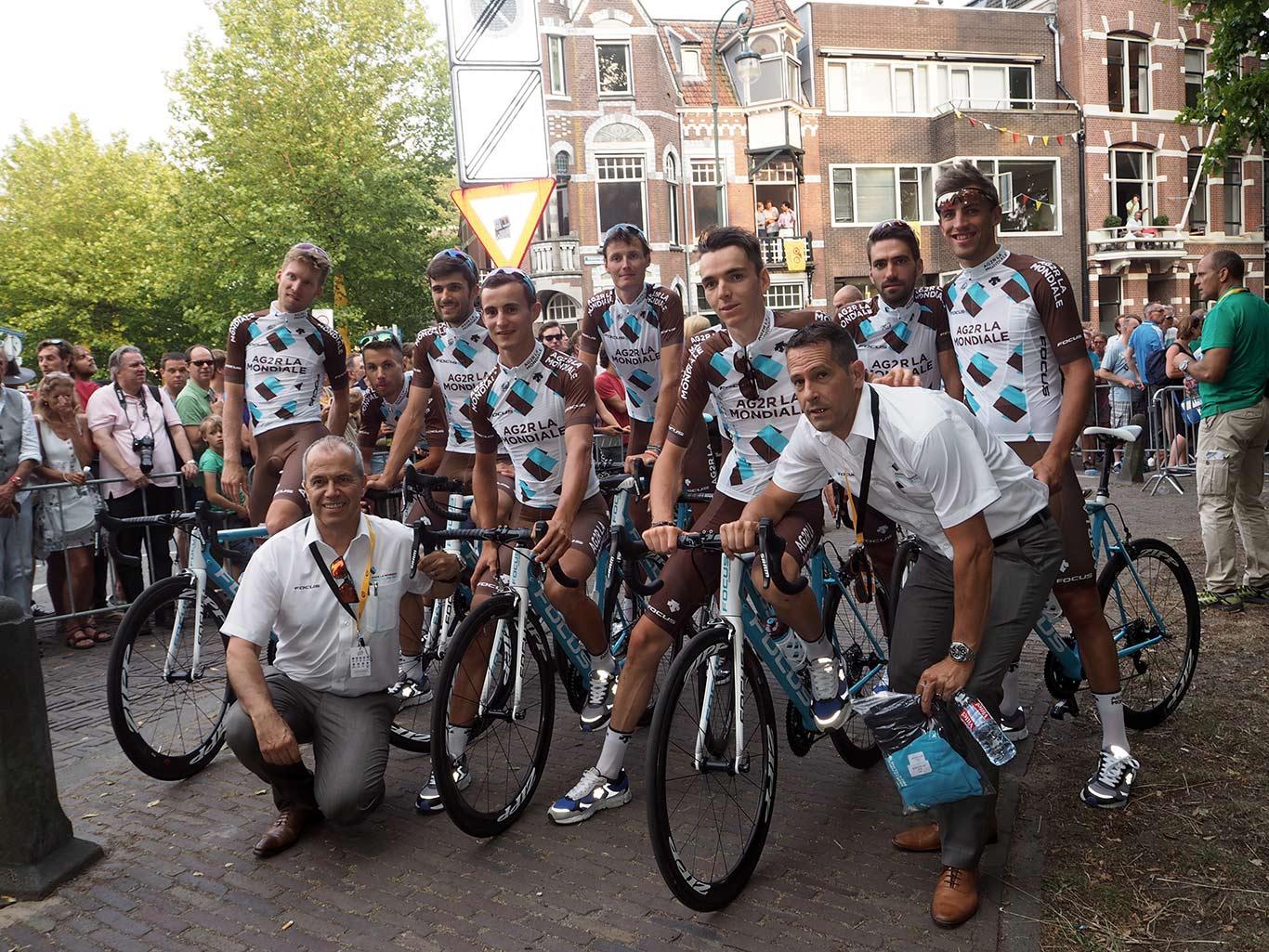 Tour de France Tour de France 2015 Equipe AG2R LA MONDIALE YPM