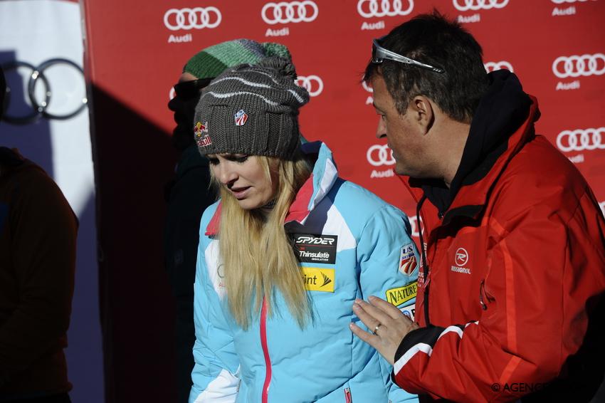 Yves PERRET, Lindsey VONN